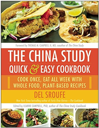 The China Study Quick and Easy Cookbook - review by VegansEatWha.com