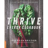 Thrive Energy Cookbook - review by VegansEatWhat.com