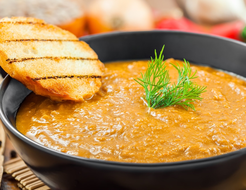 Red Lentil Dal Recipe — Dishmaps