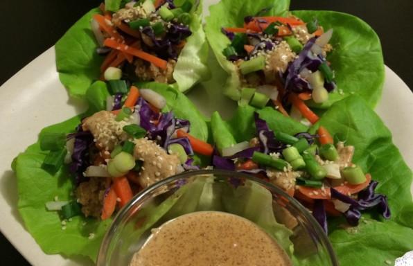 tempeh lettuce wrap