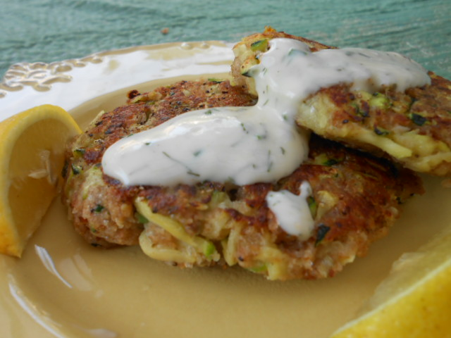 Zucchini Crab Cakes Food Network