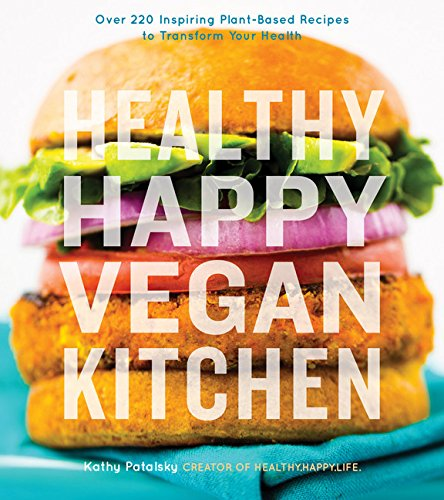 Halthy Happy Vegan Kitchen by Kathy Potalsky - review by VegansEatWhat.com