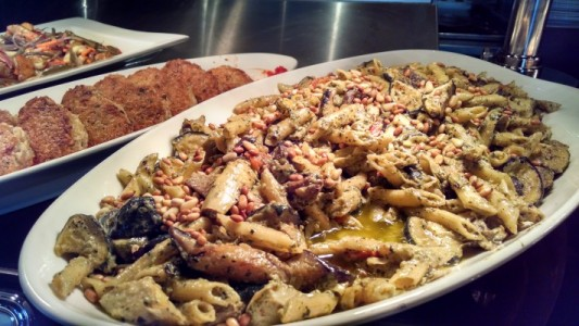 Pesto Grilled Vegetables with Penne Pasta