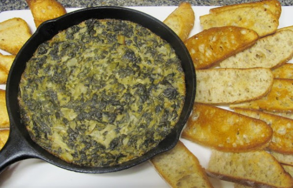 Supergreens Artichoke Dip
