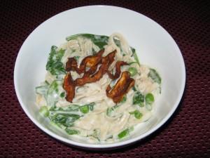 Vegan Bowls: Mushroom Carbonara Bowl