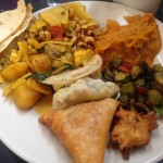 What Do Vegans Eat at the Nepal Cuisine Lunch Buffet?  Curry of Course!
