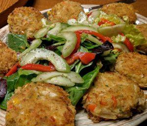 Artichoke Crab Cakes